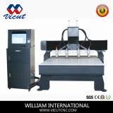 Multi CNC van de Machines van de Gravure van de Houtbewerking van Hoofden Router