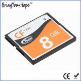 Marca OEM 200X 133X Speed Compact Flash 8 GB CF Memomy tarjeta (8GB CF)