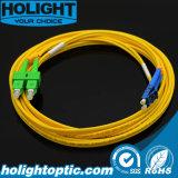 Sca alla fibra monomodale duplex Patchcord ottico di LC