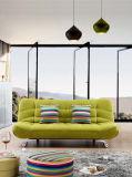 Moderne gefaltetes Sofa-Bett des Gewebe-zwei