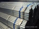 Tubo redondo de acero sumergido caliente del soldado enrollado en el ejército de la longitud de GB/T3091-1993 los 5.8m