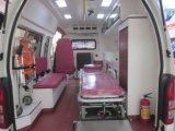 Alta ambulancia de Rhd de la gasolina de la azotea 2.7L de Toyota 4X4 Hiace