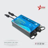 Inverseur micro de relation étroite solaire de réseau d'IP65 200W 24V avec la fonction de contrôle