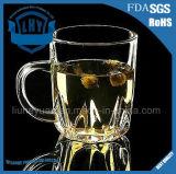 прозрачная стеклянная чашка молока кофейной чашки чашки чая молока 480ml