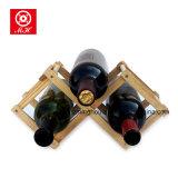 Kreative heiße Verkaufs-faltbarer festes Holz-Wein-Ausstellungsstand