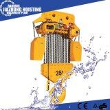 Precio eléctrico del alzamiento de cadena 1000kg 380V de la fuente