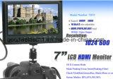 """7 """" per il video 1024x600 dell'affissione a cristalli liquidi HD del campo della macchina fotografica"""