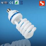 освещение высокого качества 25W E27 половинное спиральн энергосберегающее