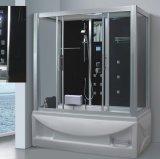 sauna Pearlized spécial de vapeur de 1700mm avec le jacuzzi et le Tvdvd (AT-LG0908)
