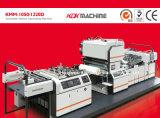 Stratifié feuilletant à grande vitesse de machine avec la séparation Lamineermachine (KMM-1050D) de Chaud-Couteau