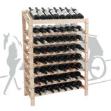 2016 klassische Zahnstangen-hölzernen Weinkeller mit Insel-Keller anpassen