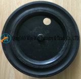 12 pulgadas rueda de goma sólida para cubo de basura