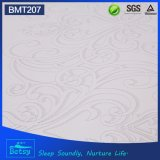 OEM comprimido de espuma de diamante colchón de 30 cm con cubierta de tela Jacquard doble y espuma de onda