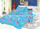 중국 Suppiler 가정 직물 깃털 이불 덮개 다채로운 싼 침구 세트