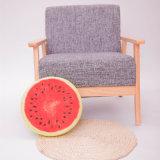 Cuscino decorativo di Confortable del cotone di stile rotondo della frutta