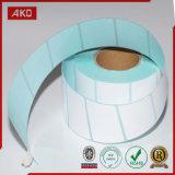 Étiquette de papier amicale d'Eco pour le constructeur sur un seul point de vente