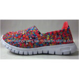 Ботинки Slip-on ботинок детей в Weave