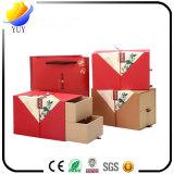 Caja de regalo de diseño personalizado de alta calidad Caja de papel de regalo de Navidad