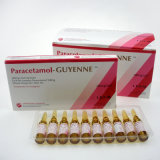 GMPの薬の鎮痛剤および解熱剤のParacetamolの注入300mg/2ml