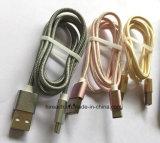 Bunter aufladender und Datenübertragung Typ-c Nyon USB-Kabel
