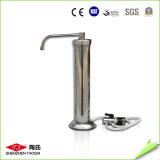 Purificateur d'eau de table portable en acier inoxydable de 10 pouces