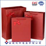 Лоснистый прокатанный мешок подарка с Рождеством Христовым бумаги искусствоа бумажный