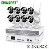 Macchine fotografiche senza fili di WiFi 8CH del principale 10 della Cina e NVR (PST-WIPK08BH)