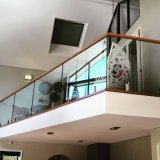 Frameless 유리제 앞 현관 방책 또는 난간