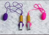 USB que carga el producto doble del sexo del Masturbation de los huevos para las señoras