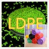 Materia prima de plástico LDPE Masterbatch / Granulado para Cine