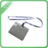 Neue Entwurfs-Polyester Identifikation-Kartenhalter-Abzuglinie für Ausstellung
