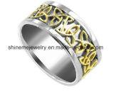 Ring de van uitstekende kwaliteit van de Vinger van de Juwelen van het Roestvrij staal