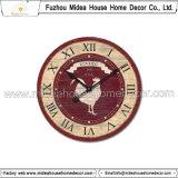 Materiale di legno della decorazione dell'orologio di parete