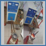 máquina de calefacción de inducción de 30kw IGBT para el tratamiento térmico que cubre con bronce