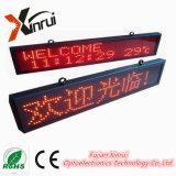 Módulo al aire libre impermeable de la pantalla de visualización de LED P10 de la sola del rojo LED cartelera del texto