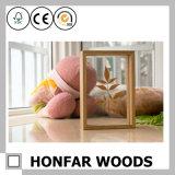 Caixa de amostra Caixa de sombra de madeira quadro Moldura de madeira