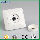 Interruptor ligero de la venta de la UE de tacto del amortiguador de cristal estándar caliente del panel