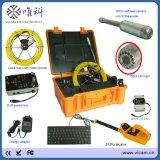 Abwasserkanal-Abflussrohr-Inspektion-Kamera V8-1288kc der 20m/30m/40m/50m Kabel-Miniselbststufen-700tvl