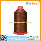 100%の担保付きポリエステル連続的な縫う糸210d/3