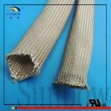 Manicotto termico Braided di Insulationi di isolamento della vetroresina a temperatura elevata e termoresistente del materiale