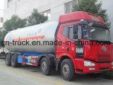 Hotsales中国の製造FAW 8X4 15mt 36m3のガスの交通機関のトラック