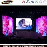 Visualización de pantalla de interior de P3 HD Epistar LED para el hotel