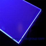 El claro 3m m iridiscente a prueba de calor del alto lustre echó precio plástico de acrílico de la hoja