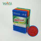 다채로운 청소 솔 패드 가구 청소를 위한 닦는 솔 패드