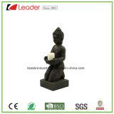 Statua di Polyresin Buddha per gli ornamenti domestici del giardino e della decorazione