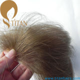 Toupee dei capelli umani di Remy degli uomini indiani del Toupee