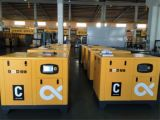 Compressor In twee stadia van de Lucht van de Schroef van de hoge Efficiency VSD de Roterende