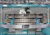 단 하나 저어지에 의하여 뜨개질을 하는 직물 원형 뜨개질을 한 기계