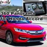 Hintere Ansicht-u. des Panorama-360 Schnittstelle für Honda- Civicabkommen 2016 mit Lvds RGB Signaleingang-Form-Bildschirm