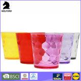 Farben-transparente Plastiktrommel